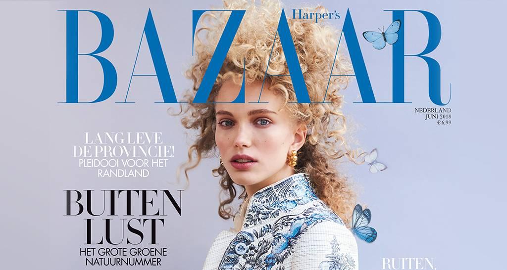 Harper's Bazaar juni: Buitenlust