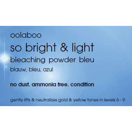 so bright & light blue, incl. measuring cup