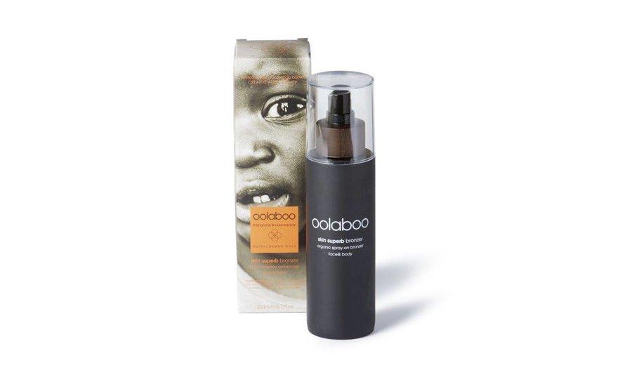 skin superb organic spray on bronzer limited edition Orange Babies