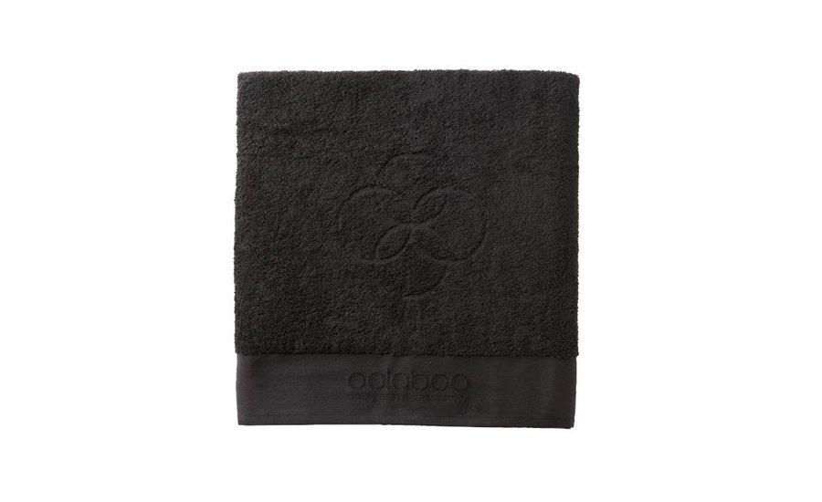 Medium embracing towel black 570 gram 50x100 cm