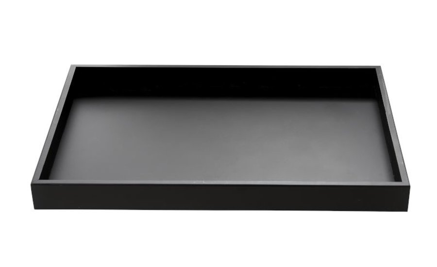Wooden Tray Black  35x52x4,5 cm