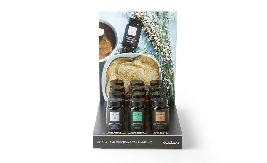 Display supplementen huid en -haarverzorging