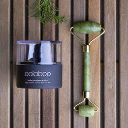 truffle indulgence elixir  & gemstone beauty roller Jade