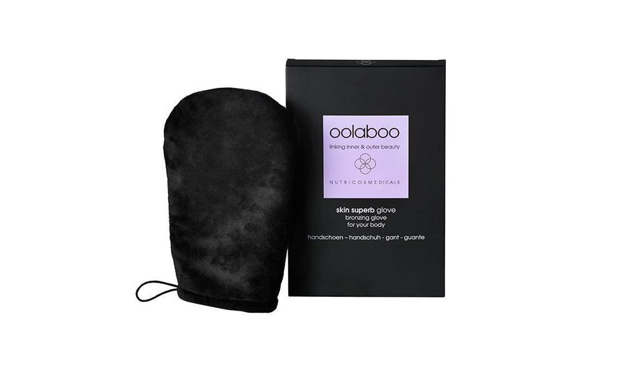 skin superb bronzing glove