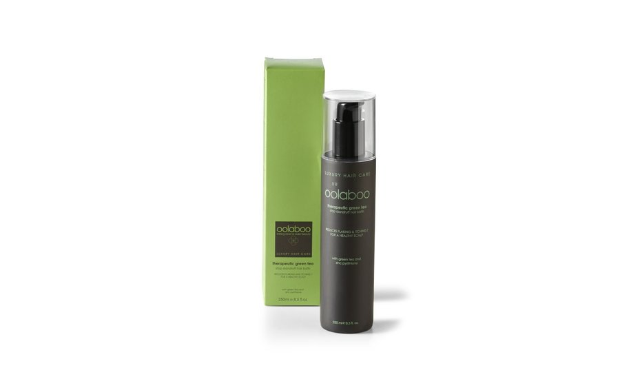 therapeutic green tea stop dandruff hair bath 250 ml