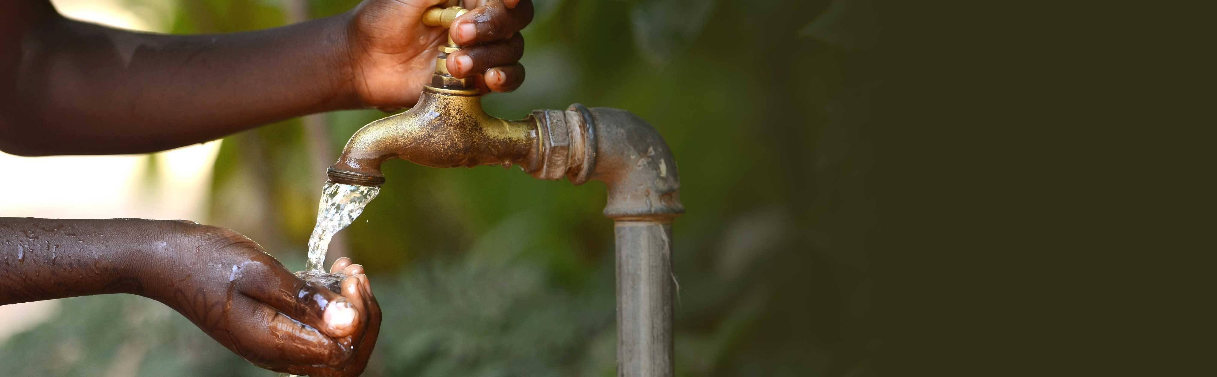 Un produit Oolaboo vendu équivaut à 1 litre d'eau potable propre
