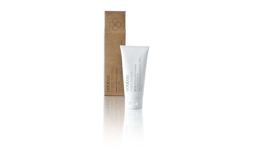 super foodies natural white toothpaste 20 ml