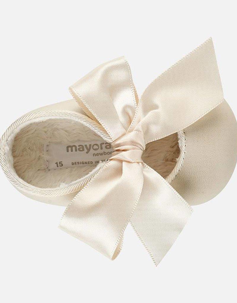 Mayoral Mayoral zandkleurig schoentje 9930 2