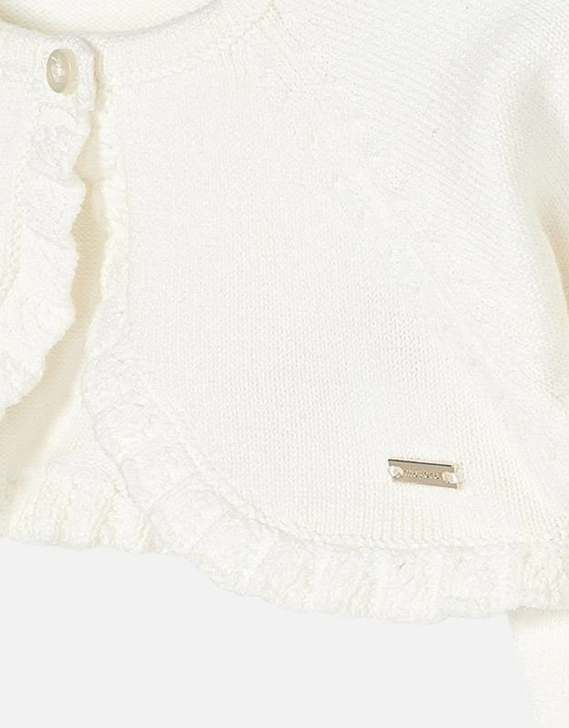 Mayoral Mayoral Vestje Off-white 307 1