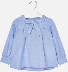 Mayoral Mayoral blouse blauw 4132