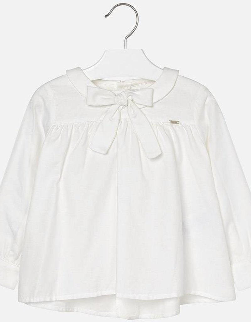 Mayoral Mayoral blouse off white 4132 1