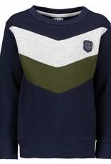 lcee Lcee Sweater V-shape Navy
