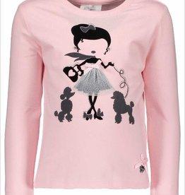 Le chic Le Chic T-shirt  Roze/Grijs