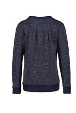 Nono Nono Sweater Navy Jacquard