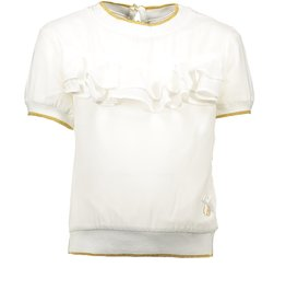 Le chic Le Chic Blouse Off White / Goud