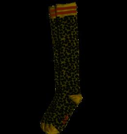 Nono Nono Kniekous zwart/wit leopard