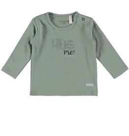 Bampidano Bampidano shirt Groen/Navy Tekst