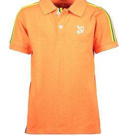 Tygo & Vito Tygo&Vito Polo Oranje Neon met Contrastbies