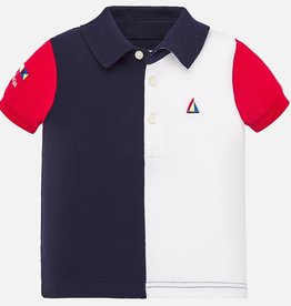 Mayoral Mayoral Polo Navy/Wit/Rood