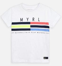 Mayoral Mayoral Shirt Wit/Print