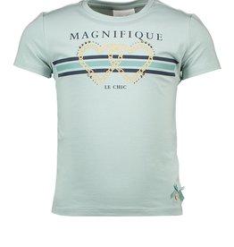 Le Chic PreSpring Le Chic Shirt Groen Tekst