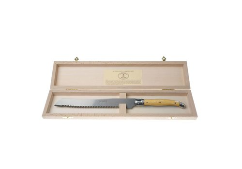 Laguiole Laguiole Bread Knife Ivory in Box