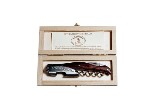 Laguiole Laguiole Sommelier Knife Rosewood in Box