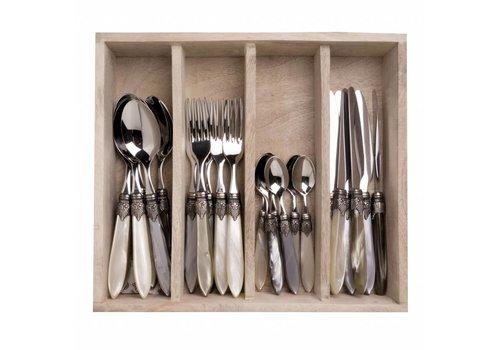 Murano Murano 24 Piece Cutlery Set Château Mix