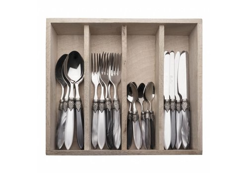 Murano Murano 24 Piece Cutlery Set Loft Mix