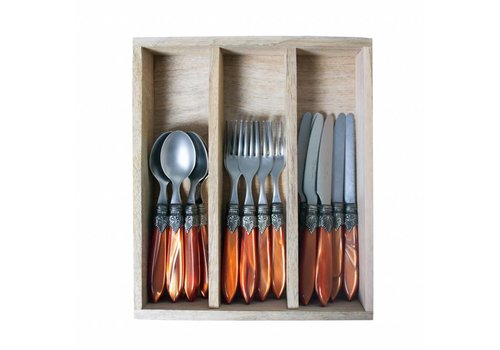 Murano Murano 18 piece Dessert-/Breakfast Set Brick