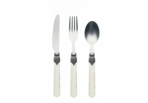 Vintage Breakfast Cutlery Set (3-piece) Vintage, Ivory