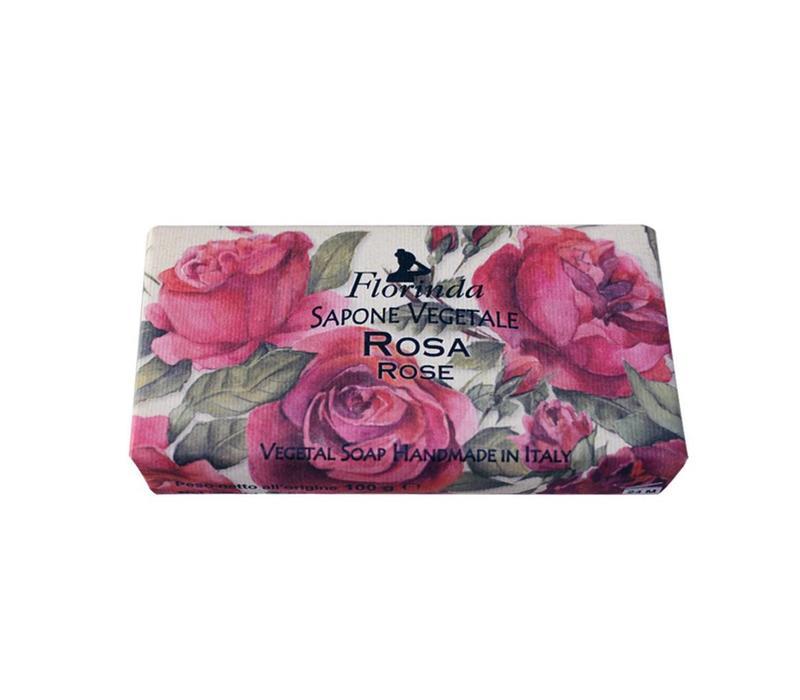 Sapone Vegetale 100g Rose
