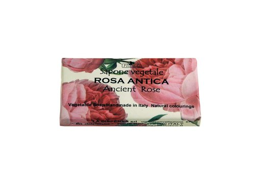 Savon Sapone Vegetale 100g Ancient Rose