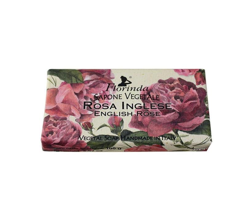 Sapone Vegetale 100g English Rose