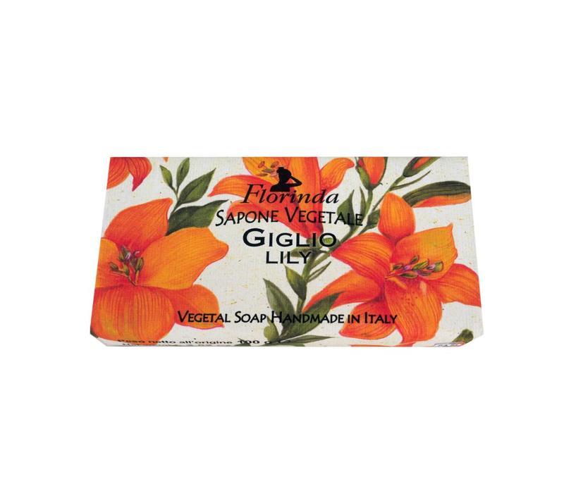 Zeep Vegetale 100 Gram Lily
