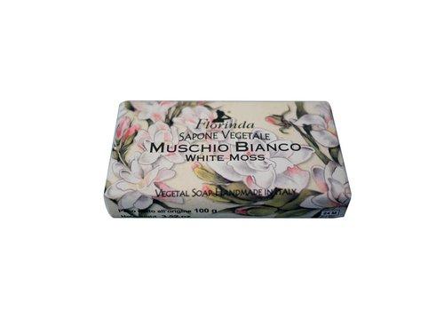 Savon Sapone Vegetale 100g White Moss