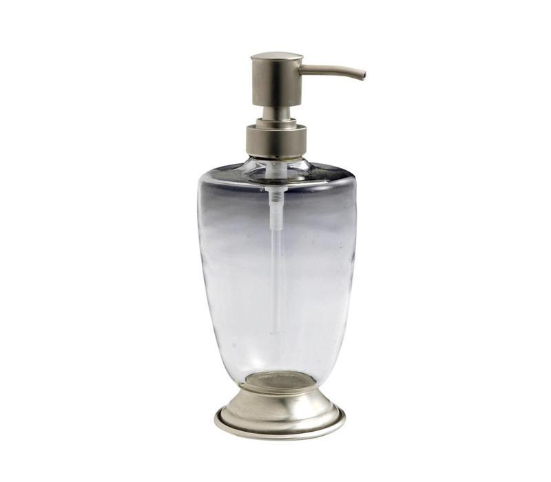 Au Bain de Marie zeepdispenser glas/metaal