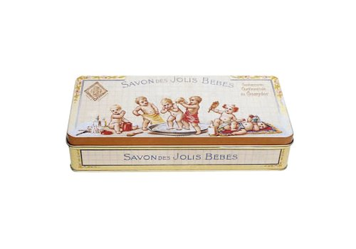 French Classics Metal Box 19x9xH4 cm Jolis Bébés