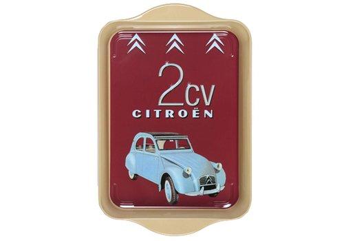 French Classics Miniserviertablett 21x14 cm Citroën Metall