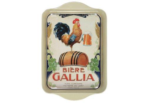 French Classics Mini Dienblad Gallia 14x21 cm Metaal