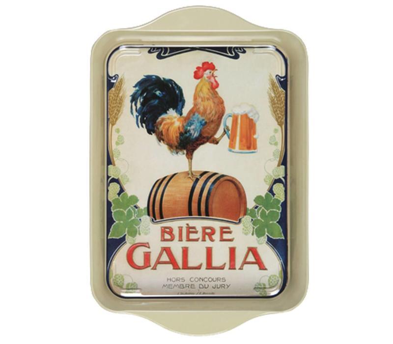 Mini Dienblad Gallia 14x21 cm Metaal