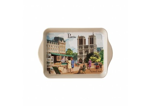 French Classics Miniserviertablett 21x14 cm Paris