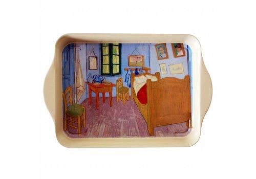 French Classics Miniserviertablett 21x14 cm Van Gogh Schlafzimmer Metall