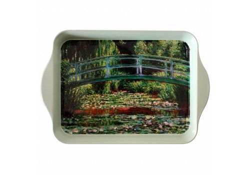 "French Classics French Classics Small Serving Tray Metal 21x14 cm ""Monet"" bridge"