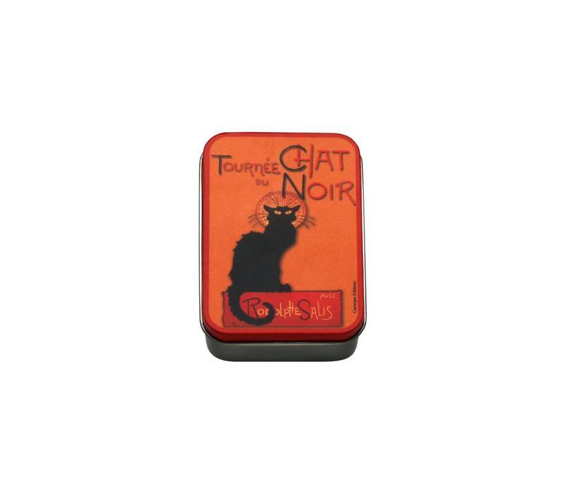 Dose Klein 9,5x6xH2,7 cm Chat Noir
