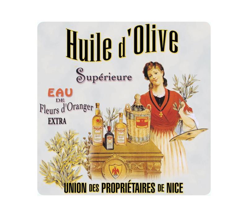 Onderzetter Huile d'olive 20x20 cm Hittebestendig Glas