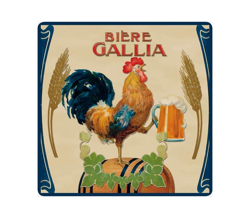 Untersetzer 20x20 cm Hitzebeständig Glas Gallia