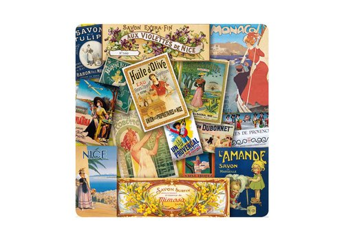French Classics Trivet Glass (Heat Resistant) 20x20 cm Affiches