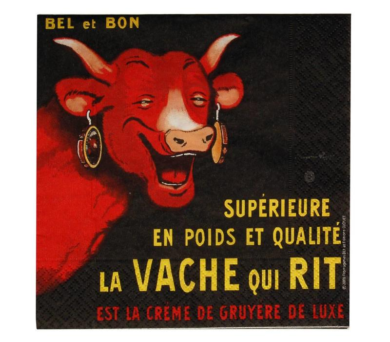 Vache Qui Rit Pakje 20 Servetten