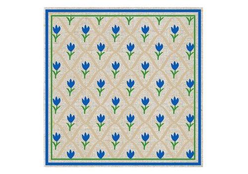 French Classics Päckchen mit 20 Servietten Tulpe Blau